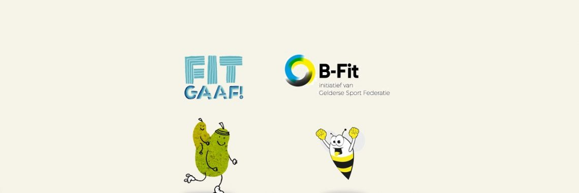 fitgaaf bfit samenwerking samen fit gelderse sport federatie gezonde school