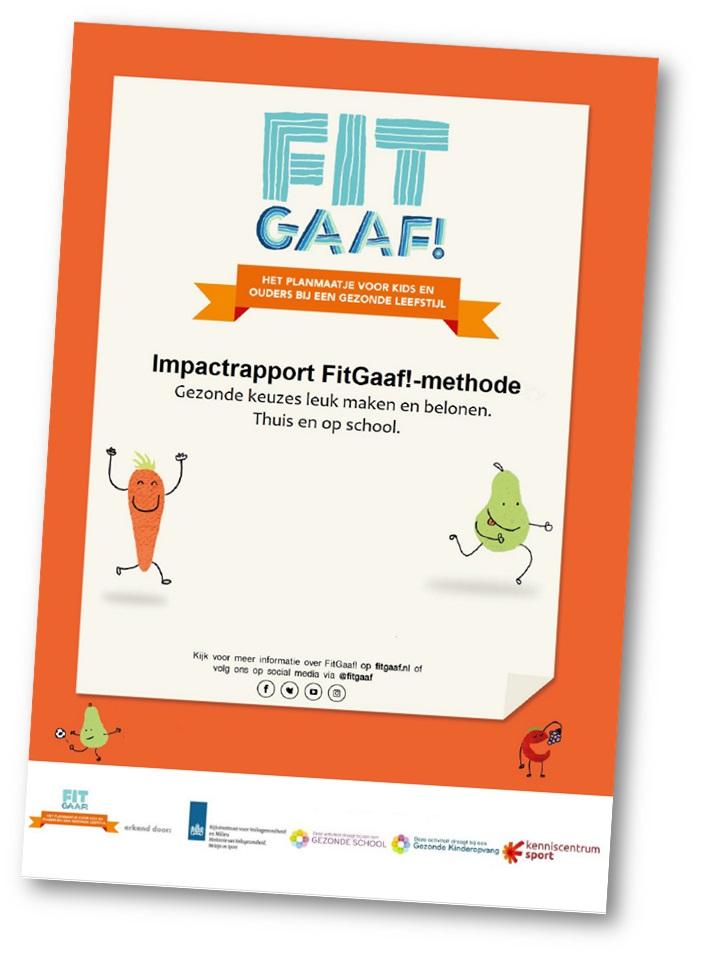 resultaten gezonde school projecten fitgaaf